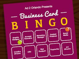 Business Card Bingo 2017