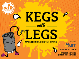 Kegs with Legs at &Barr