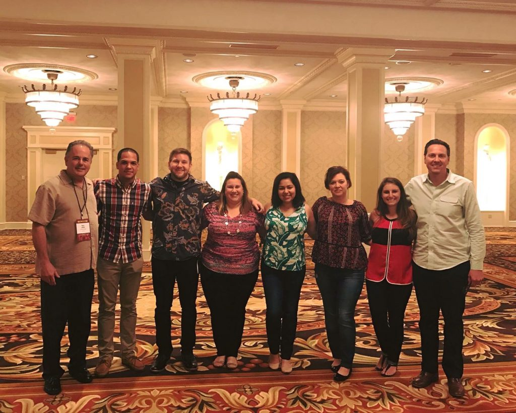 Ad 2 Orlando 2016-2017 virtual agency with 2017-2018 board and Ad 2 National public service competition judges.